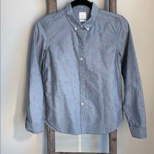 Like new Gap button down Women's shirt